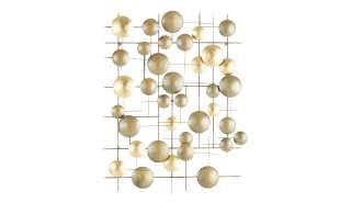 Wanddekoration ¦ gold ¦ Metall Dekoration > Dekoartikel - Höffner