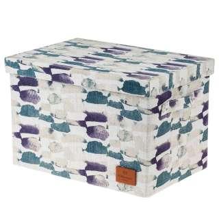 home24 Aufbewahrungsbox Aquarell II (2er-Set)