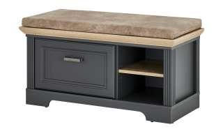 Designertisch in Lila und Schwarz rund