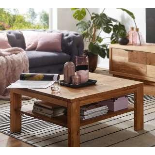 Vollholztisch aus Wildeiche Massivholz Wohnzimmer