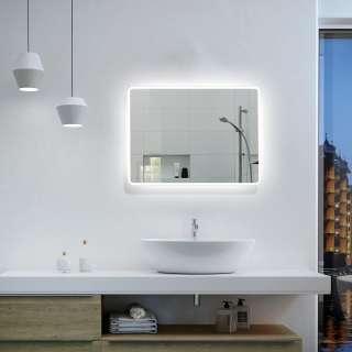 Badezimmer Hängeschrank in Anthrazit 30 cm breit
