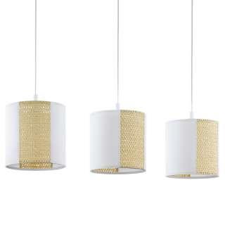 Spiegel Badschrank in Weiß und Eichefarben LED Beleuchtung
