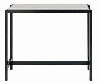 Schwarzer Armlehnenstuhl aus Kunststoff Massivholzgestell (2er Set)