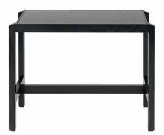 Stühle in Schwarz Kunststoff Kunstleder Polster und Armlehnen (2er Set)