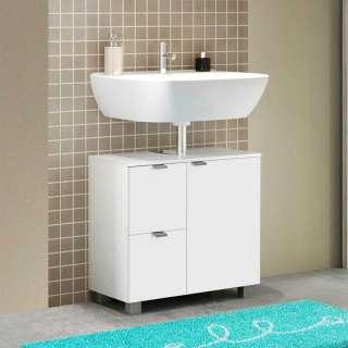 Waschkommode in Weiß 70 cm breit