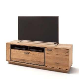 Fernsehboard mit Asteiche furniert 180 cm breit