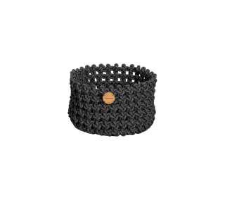 Cane-line Outdoor - Soft Rope Korb - klein - Dark grey - indoor