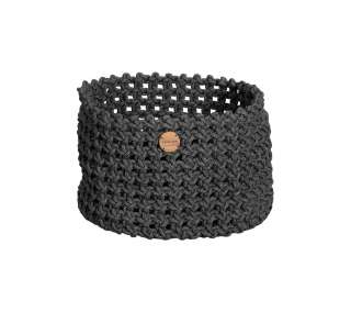 Cane-line Outdoor - Soft Rope Korb - groß - Dark grey - indoor