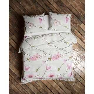 Schubkastenbett aus Wildeiche Massivholz Bianco geölt (3-teilig)