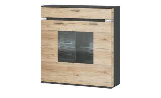 hammel® Highboard »MISTRAL« mit 3 Türen und 3 Schubladen, Breite 133 cm