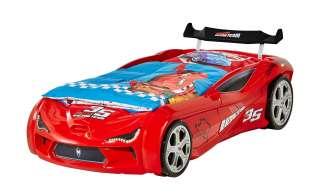 Autobett-Gestell rot Red Star ¦ rot Kindermöbel > Kinderbetten - Höffner