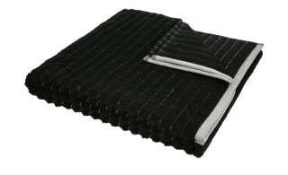 VOSSEN Duschtuch  Hardy ¦ schwarz ¦ 90% Bio-Baumwolle, 10% Polyester Badtextilien und Zubehör > Handtücher & Badetücher > Handtücher - Höffner