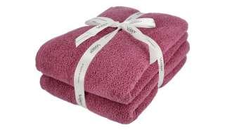 VOSSEN Duschtuch, 2er-Set  Smart Towel ¦ lila/violett ¦ 100% Baumwolle Badtextilien und Zubehör > Handtücher & Badetücher > Handtücher - Höffner