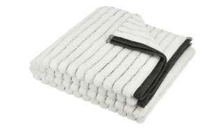 VOSSEN Handtuch  Hardy ¦ weiß ¦ 90% Bio-Baumwolle, 10% Polyester Badtextilien und Zubehör > Handtücher & Badetücher > Handtücher - Höffner