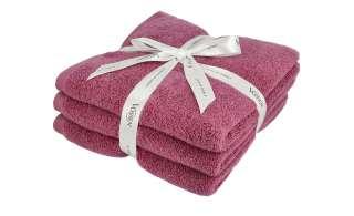 VOSSEN Handtuch, 3er-Set  Smart Towel ¦ lila/violett ¦ 100% Baumwolle Badtextilien und Zubehör > Handtücher & Badetücher > Handtücher - Höffner