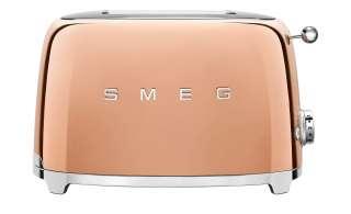smeg Toaster  TSF01RGEU ¦ gold ¦ Edelstahl Elektrokleingeräte > Toaster - Höffner