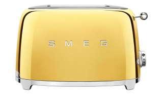 smeg Toaster  TSF01GOEU ¦ gold ¦ Edelstahl Elektrokleingeräte > Toaster - Höffner