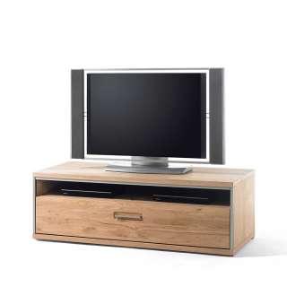 TV Board in Asteiche Bianco furniert Landhausstil