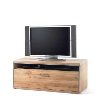 Fernsehboard in Asteiche Bianco furniert einer Schublade