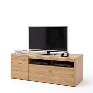 TV Unterschrank in Wildeichefarben 55 cm hoch