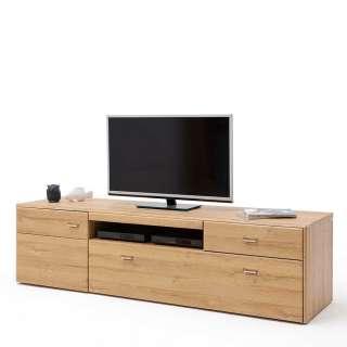 Fernsehboard in Wildeichefarben 205 cm breit