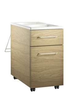 String Furniture - Mobiles Schubladenelement - eiche - indoor