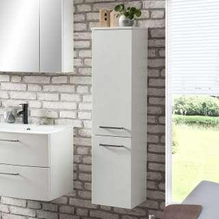 Badschrank in Weiß 30 cm breit