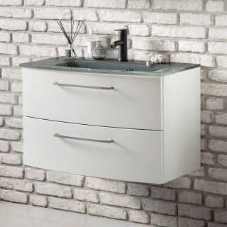 Waschbeckenunterschrank in Weiß Einlass-Waschbecken