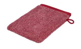 Ross Waschhandschuh  4120 Melange ¦ rot ¦ 100% Baumwolle Badtextilien und Zubehör > Handtücher & Badetücher > Handtücher - Höffner