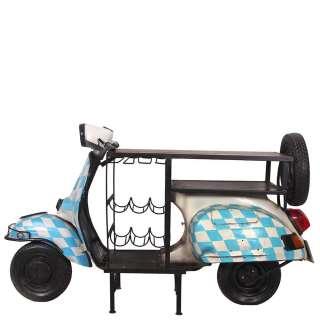 Designertisch in Bunt Roller Style