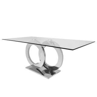 Armlehnstühle in Cognac Braun Kunstleder vier Stuhlbeinen aus Metall (2er Set)