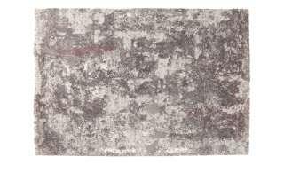 Sitzbank in hell Braun und Schwarz Bügelgestell