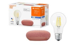 LEDVANCE Google Home Mini Sprachassistent, coral ¦ orange Lampen & Leuchten > LED-Leuchten > LED-Möbelleuchten - Höffner