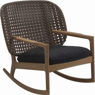 Stühle aus Eiche White Wash massiv Dunkelgrau Webstoff (2er Set)