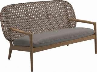 Zweisitzer Sofa aus Microfaser in Anthrazit Relaxfunktion