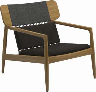 Gloster - Archi Lounge Chair - Granite - outdoor