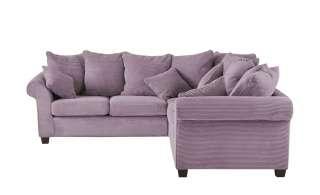 Ecksofa  Norderney ¦ lila/violett Polstermöbel > Sofas > Ecksofas - Höffner