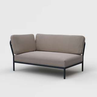 Houe - Level Lounge Sofa - ash  - Armlehne links - outdoor