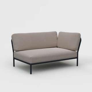 Houe - Level Lounge Sofa - ash  - Armlehne rechts - outdoor
