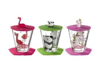 LEONARDO Kinder Trink - Set 9-tlg. Flamingo /Einhorn / Panda  Bambini ¦ GlasØ: 8.5 Gläser & Karaffen > Trinkgläser - Höffner