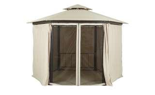 Seitenwand mit Mosquito Netz für Pavillon  Verona ¦ beige Garten > Gartenmöbel > Pavillons - Höffner