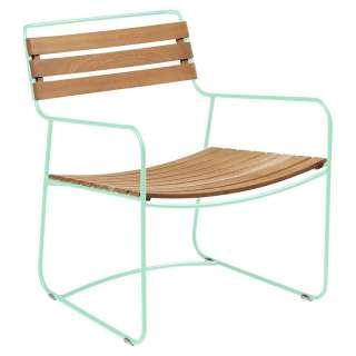 Fermob - SURPRISING Sessel Teak - 83 Opalgrün - outdoor