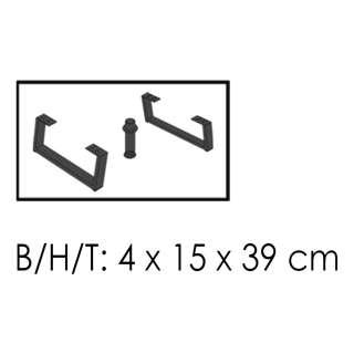 home24 Möbelfüße Booster (2er-Set)