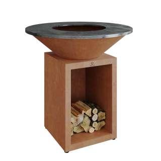 OFYR - Classic Storage Kocheinheit - corten - Ø 100 - outdoor