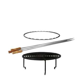 OFYR - Grill Accessories Set - black - Ø 100 - outdoor