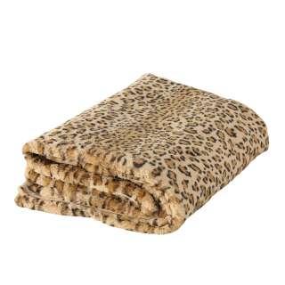 home24 Kuscheldecke Leopard