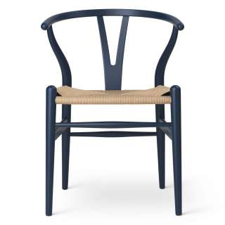 Carl Hansen & Søn - CH24 Y Wishbone Stuhl Special Edition Soft - soft blue - indoor