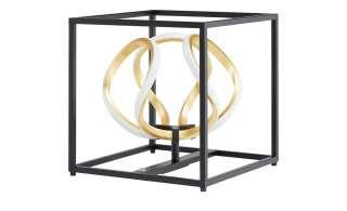 Fischer-Honsel LED-Tischleuchte, schwarz/ Blattgold ¦ gold Lampen & Leuchten > Innenleuchten > Tischlampen - Höffner