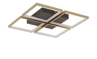 Fischer-Honsel LED-Deckenleuchte, rostfarben/Braun ¦ braun Lampen & Leuchten > Innenleuchten > Deckenleuchten - Höffner