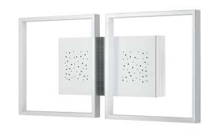 Fischer-Honsel LED-Wandleuchte,alu/chromfarben ¦ silber Lampen & Leuchten > Innenleuchten > Wandleuchten - Höffner